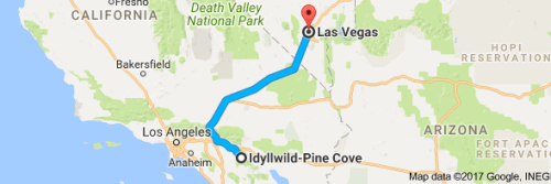 journey 1 Idyl to las Vegas